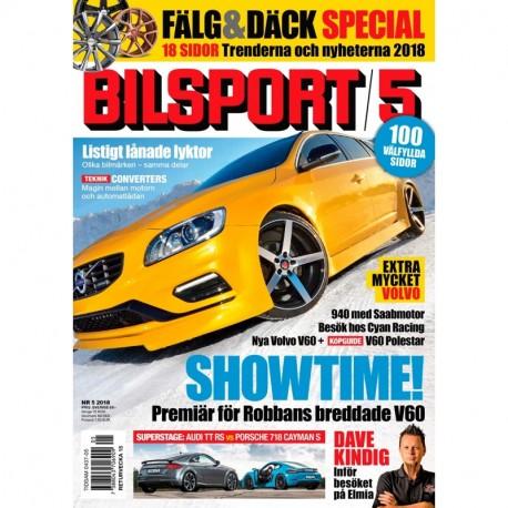 Bilsport nr 5 2018