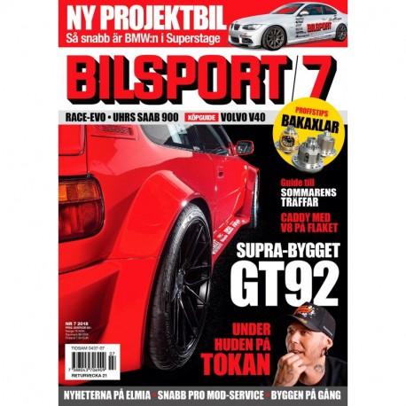 Bilsport nr 7 2018