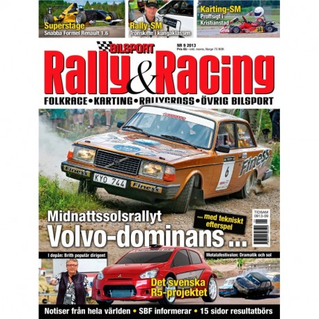 Bilsport Rally&Racing nr 9 2013