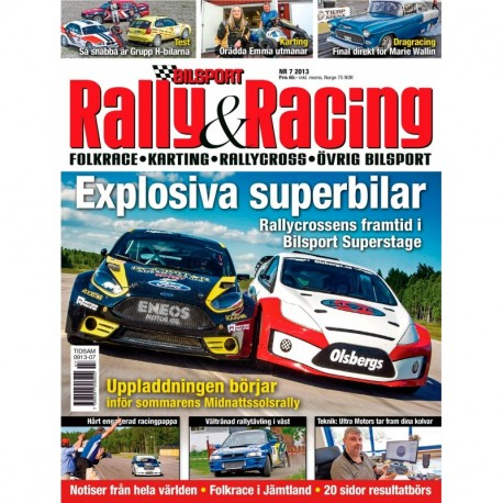 Bilsport Rally&Racing nr 7 2013