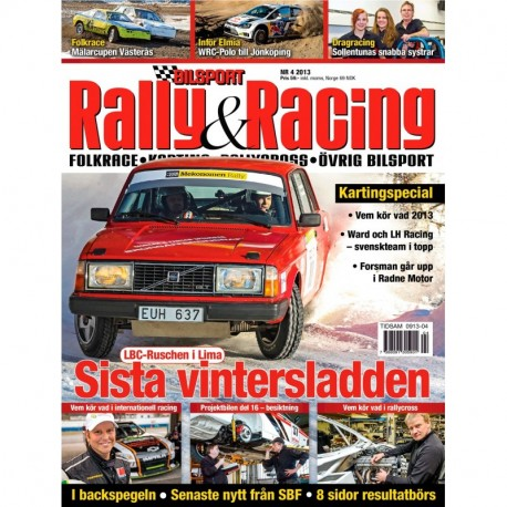 Bilsport Rally&Racing nr 4 2013