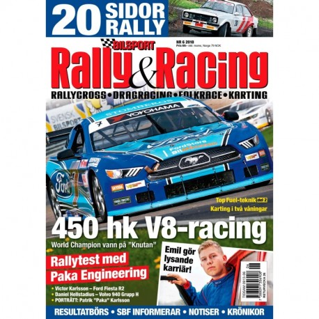 Bilsport Rally & Racing nr 6 2018