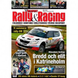 Bilsport Rally&Racing nr 12 2011