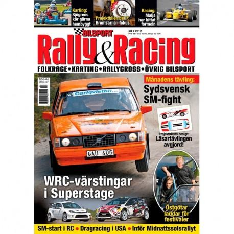 Bilsport Rally&Racing nr 7 2012