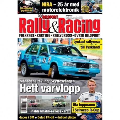 Bilsport Rally&Racing nr 10 2011