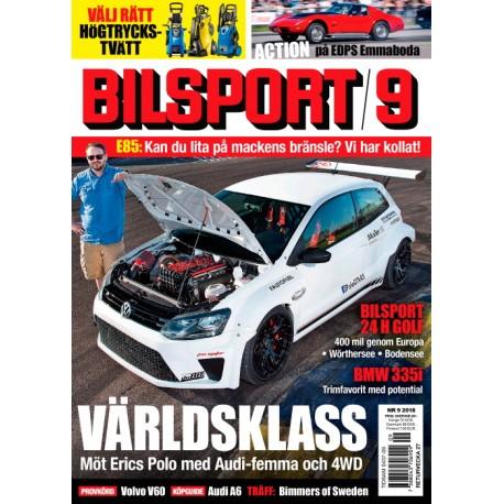 Bilsport nr 9 2018