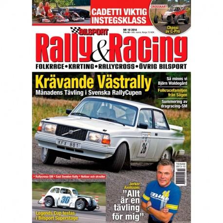 Bilsport Rally&Racing nr 10 2014