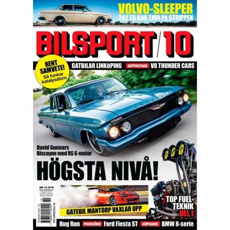 Bilsport nr 10 2018