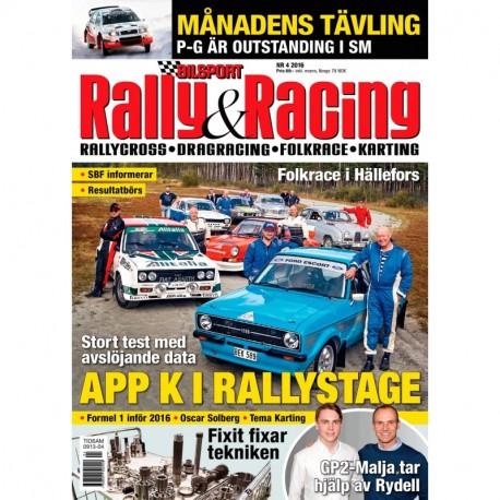Bilsport Rally&Racing nr 4 2016