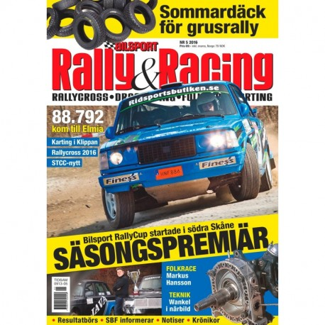 Bilsport Rally&Racing nr 5 2016