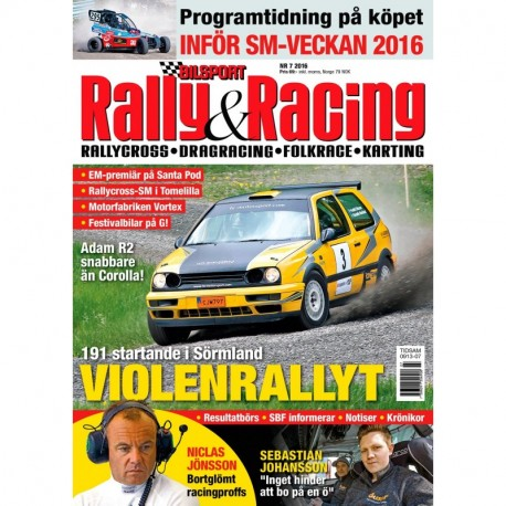 Bilsport Rally&Racing nr 7 2016
