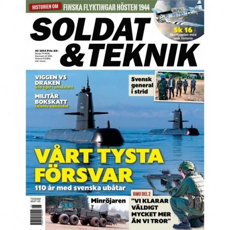 Soldat & Teknik nr 5 2014