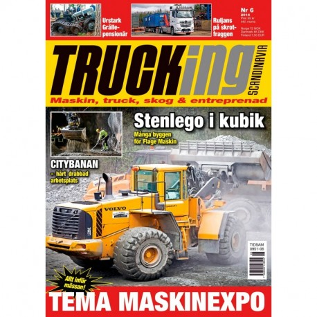 Trucking Scandinavia nr 6 2014
