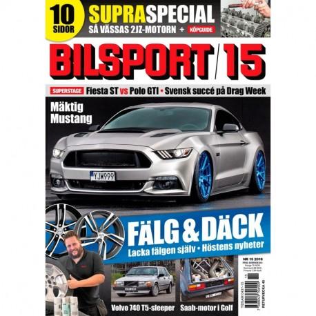 Bilsport nr 15 2018