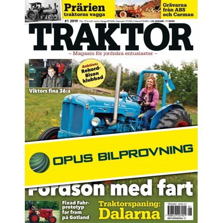 8 nr Traktor + bilbesiktning hos Opus Bilprovning