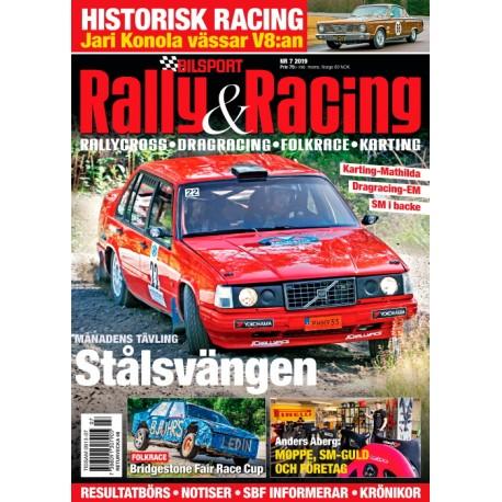 Bilsport Rally & Racing nr 7 2019