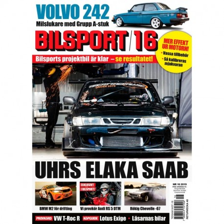 Bilsport nr 16 2019