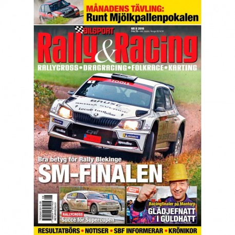 Bilsport Rally & Racing nr 8 2019
