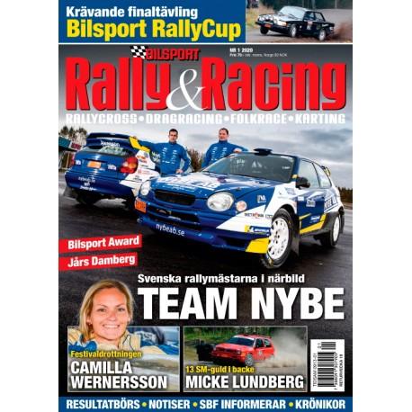 3 nr Rally & Racing för 219 kr