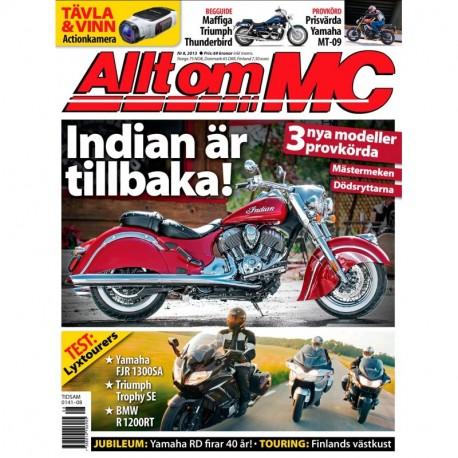 Allt om MC nr 8 2013