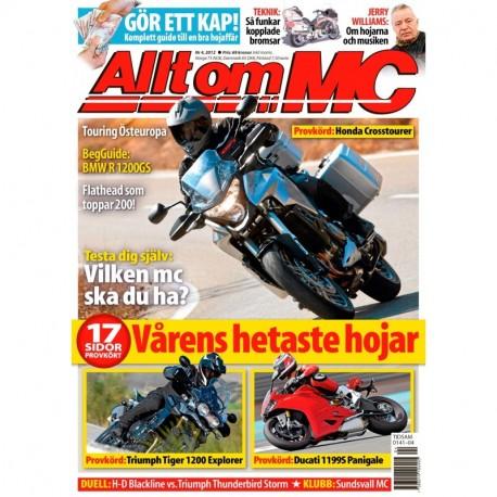 Allt om MC nr 4 2012