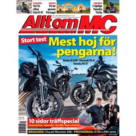 Allt om MC nr 7 2014