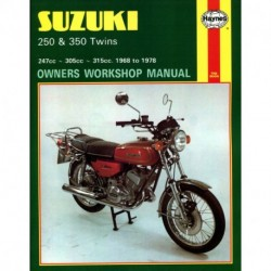 Suzuki 250 & 350 Twins 1968 - 1978