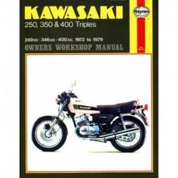 Kawasaki 250 350 & 400 Triples 1972 - 1979