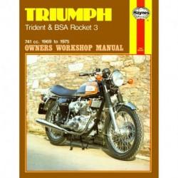 Triumph Trident & BSA Rocket 3 1969 - 1975