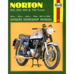 Norton 500 600 650 & 750 Twins 1957 - 1970