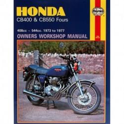 Honda CB400 & CB550 Fours 1973 - 1977