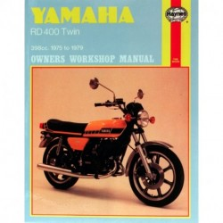 Yamaha RD400 Twin 1975 - 1979