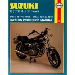 Suzuki GS550 1977 - 1982  & GS750 Fours 1976 - 1979