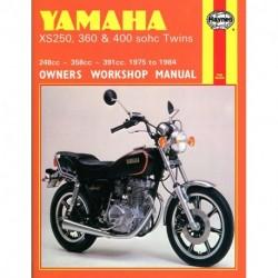 Yamaha XS250 360 & 400 sohc Twins 1975 - 1984