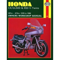Honda CX/GL500 & 650 V-Twins 1978 - 1986
