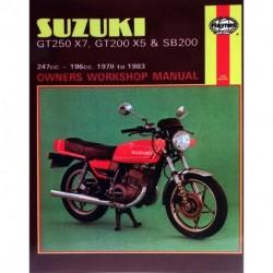 Suzuki GT250X7 GT200X5 & SB200 Twins 1978 - 1983