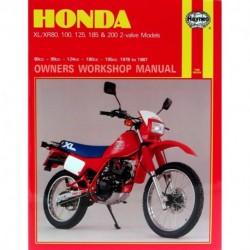 Honda XL/XR 80 100 125 185 & 200 2-valve Models 1978 - 1987