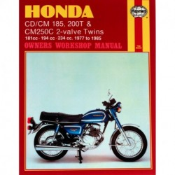 Honda CD/CM185 200T & CM250C 2-valve Twins 1977 - 1985
