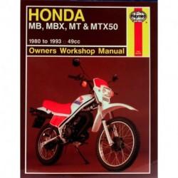 Honda MB MBX MT & MTX50 1980 - 1993