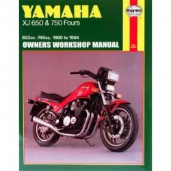 Yamaha XJ650 & 750 Fours 1980 - 1984