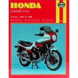 Honda CBX550 Four 1982 - 1986