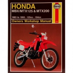 Honda MBX/MTX125 & MTX200 1983 - 1993