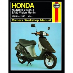 Honda NE/NB50 Vision & SA50 Vision Met-in 1985 - 1995
