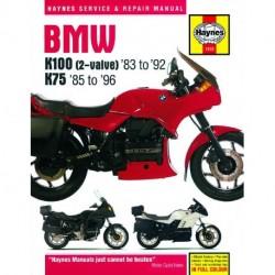 BMW K100 and 75 2-valve Models 1983 - 1996