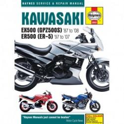Kawasaki EX500 (GPZ500S) & ER500 (ER-5) 1987 - 2008