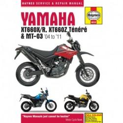 Yamaha XT660 & MT-03 2004 - 2011