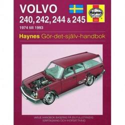Volvo 240 242 244 & 245  1974 - 1993 (svenske utgåva)