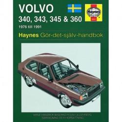 Volvo 340 343 345 & 360 1976 - 1991