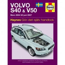 Volvo S40 & V50 Mars 2004 - Juni  2007