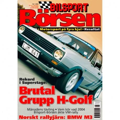 Bilsport Börsen nr 1  2004